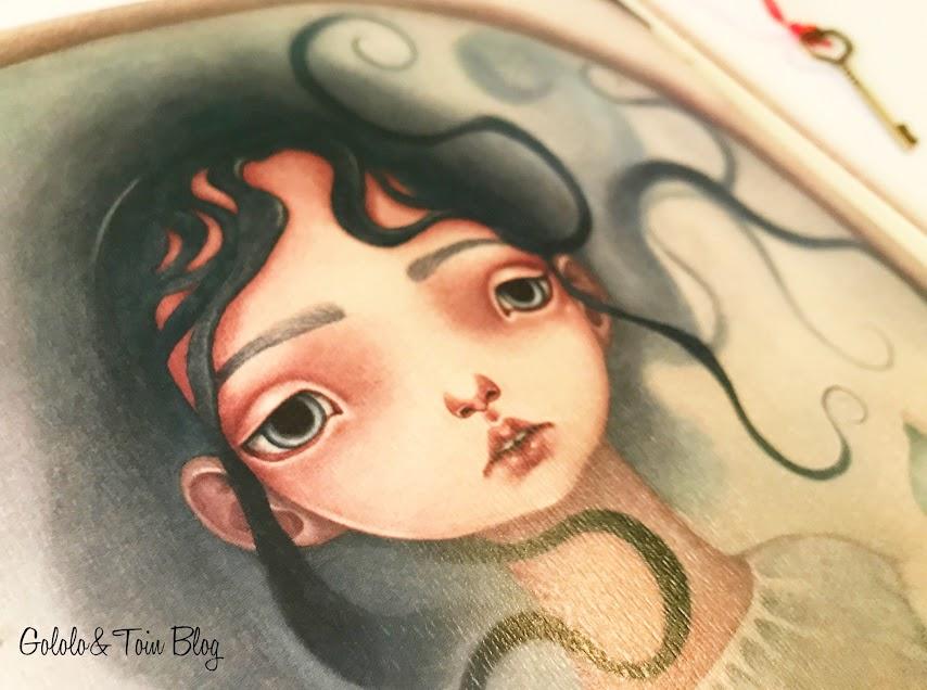 Ilustraciones álbum ilustrado La llave de Tramuntana