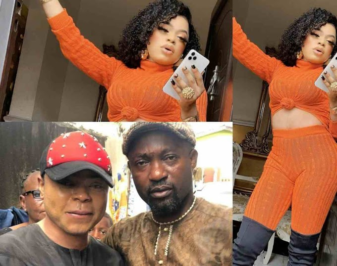Bobrisky returns to factory settings, appeared as a man to attend his father's Birthday