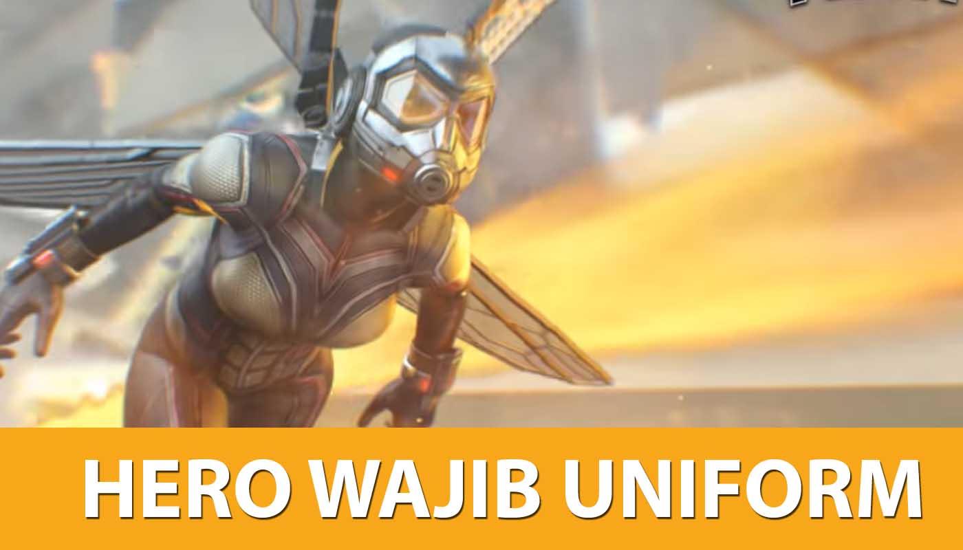 Hero / karakter wajib pakai uniform