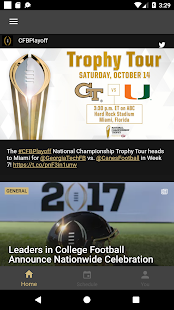 College Football Playoff - náhled