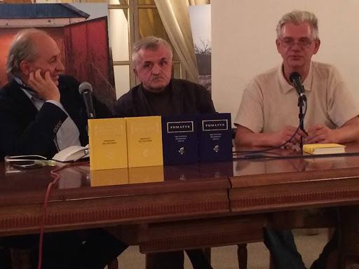 Іван Лучук виступив на презентації книжок Ірини Жиленко та Ігоря Римарука