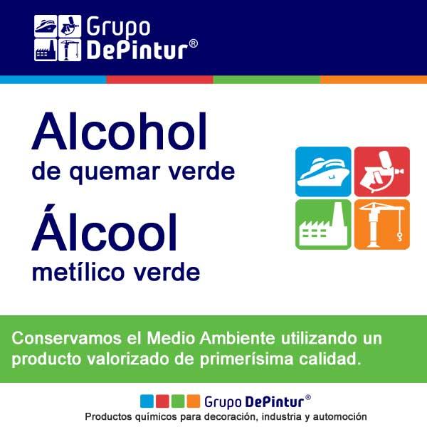 ALCOHOL DE QUEMAR VERDE