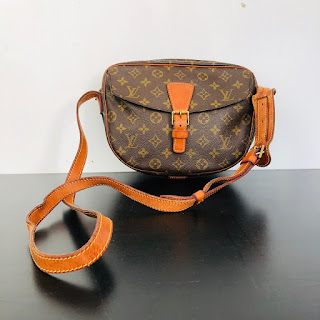 Louis Vuitton Vintage Monogram Crossbody Bag