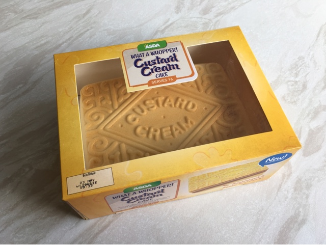 Character Birthday Cakes Asda ~ Reaching for refreshment review asda new custard cream cake