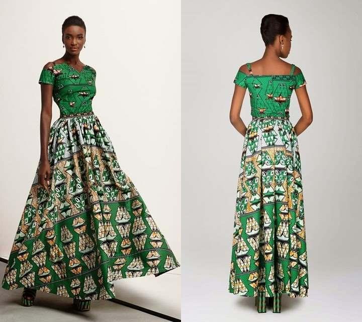 modern african maxi dresses 2017