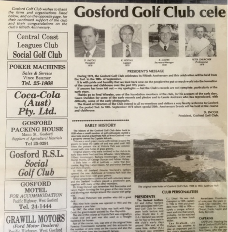 gosford golfer 39 s blog a blast from the past peter. Black Bedroom Furniture Sets. Home Design Ideas