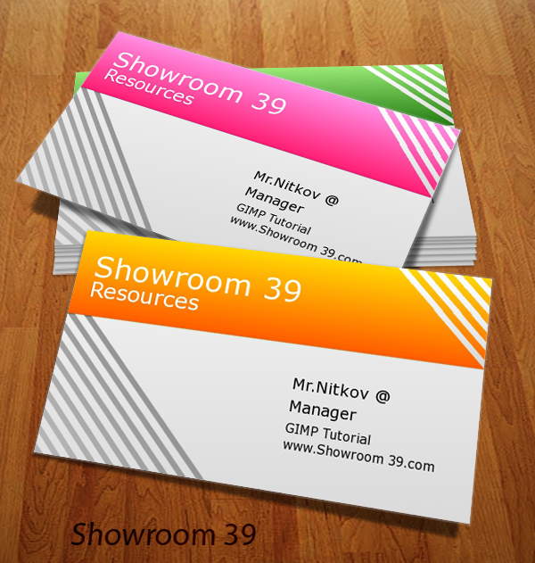 Business card template gimp room39 business card template v1 fbccfo Images