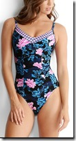 Seafolly Maillot Floral Swimsuit