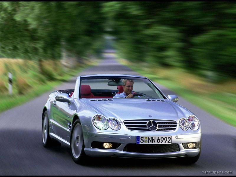 2003 mercedes benz sl class sl55 amg specifications pictures prices. Black Bedroom Furniture Sets. Home Design Ideas