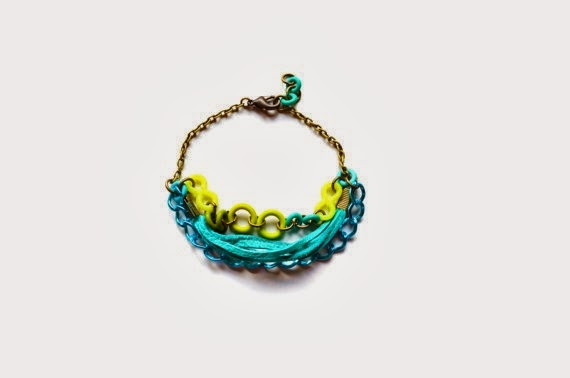 Neon Bracelet by Boo and Boo Factory