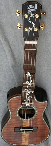 Jeffrey yong j uke tenor ukulele