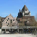 Provins : Place du Chatel