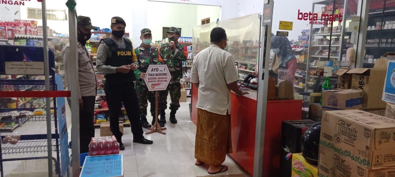 Tim Gabungan Kecamatan Sambi Gelar Patroli PPKM Mikro