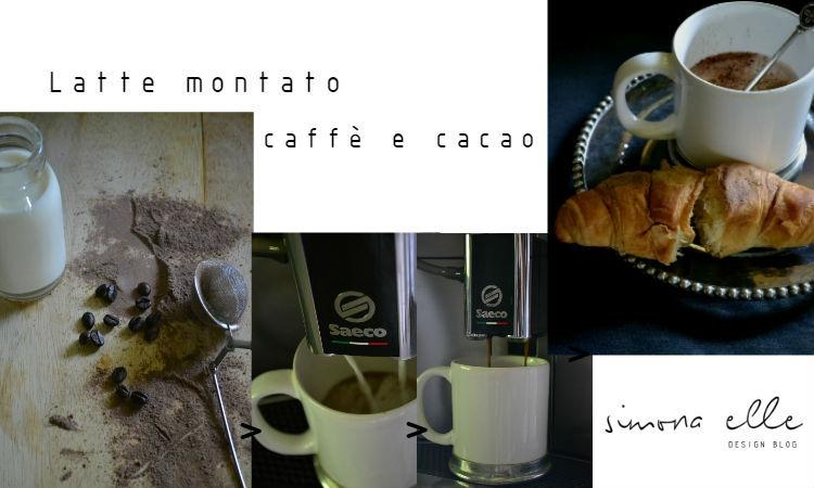 Latte_montato_caffè_cacao_preparazione