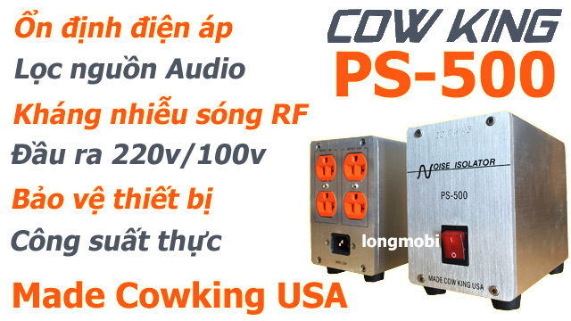 bien ap cach ly audio cowking ps 500