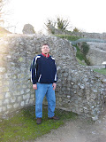 At the ruins of Castle Acre Castle