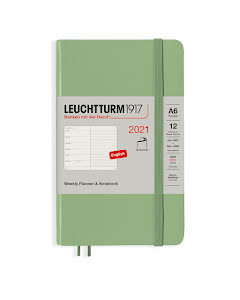 Kalender 2021 Leuchtturm1917 A6 vecka/notes Soft