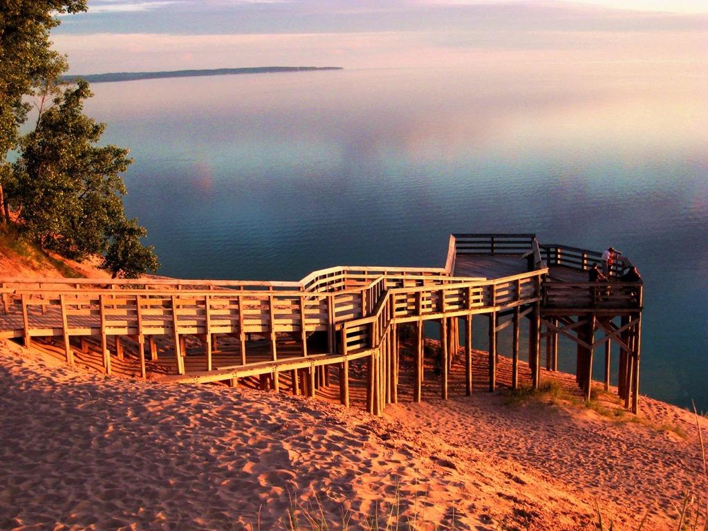 [Sleeping+Bear+Dunes+NLS+Pierce+Stocking+Drive+Sign+9+Lake+MI+Overlook+Sunset+DS+06-10%5B3%5D]