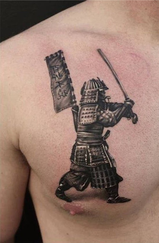 samurai_tatuagem_no_peito