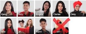Peserta Yang Tereliminasi Gala Show 5 X Factor Indonesia 10 juli 2015