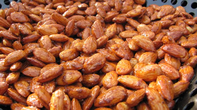 Smoke Roasted Almonds