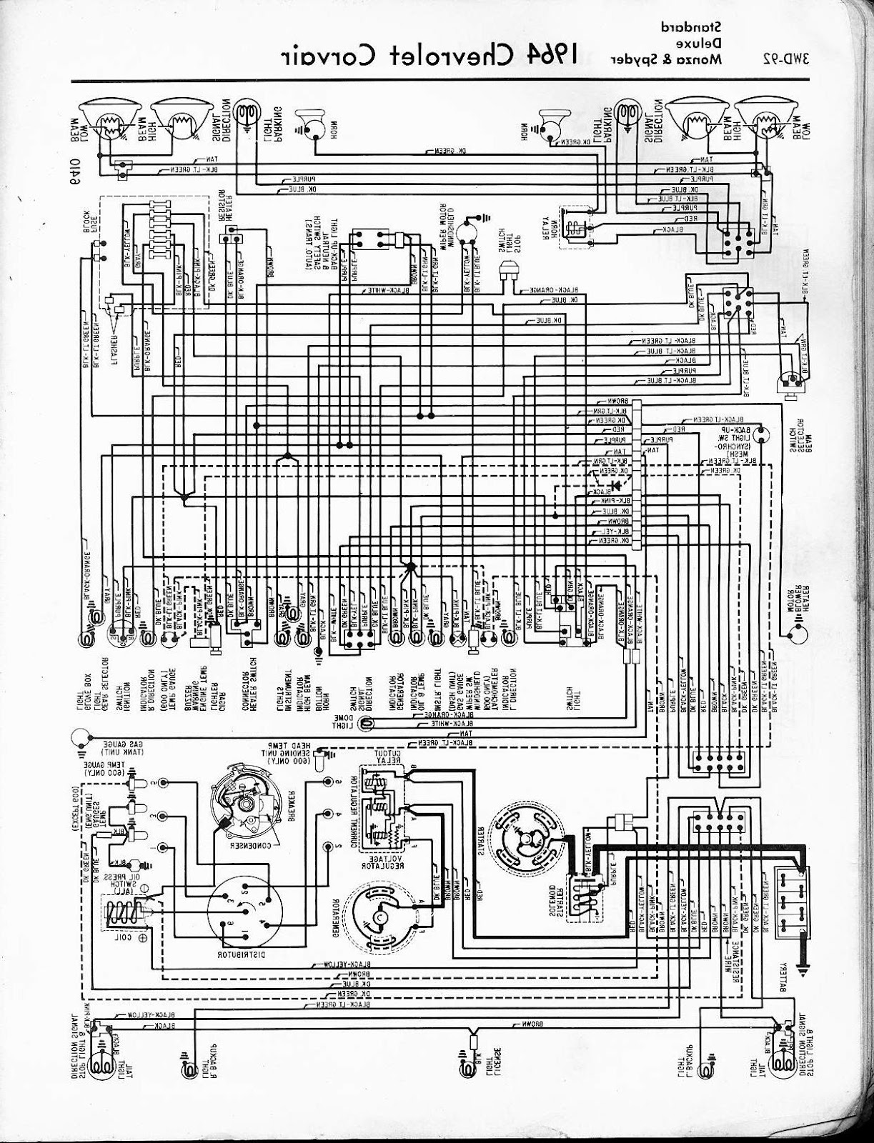 This Wiring Diagram Cover All on 1955 Chevy Truck Wiring Diagram