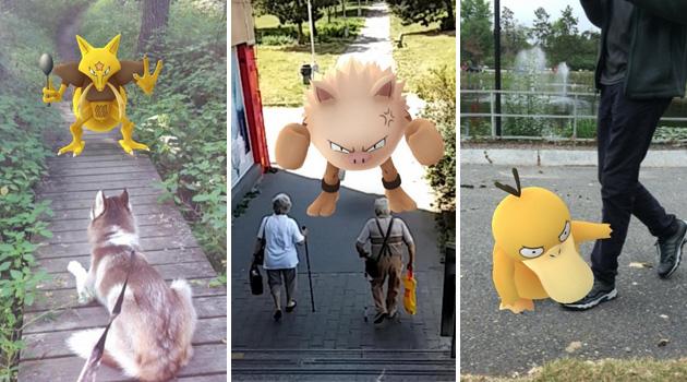 Pokémon no caminho