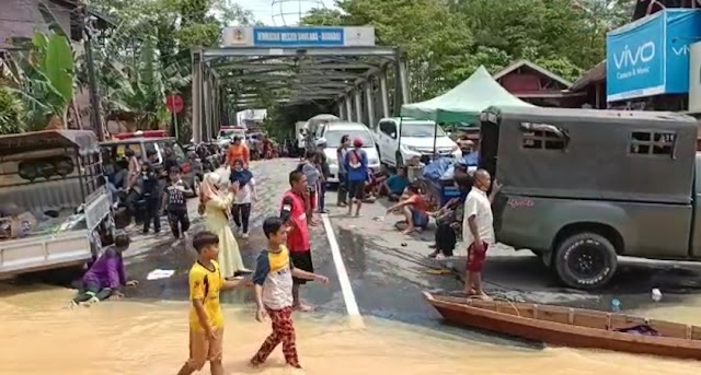 Banjir Kalsel; PLN Padam, Sinyal Seluler Terganggu di Barabai