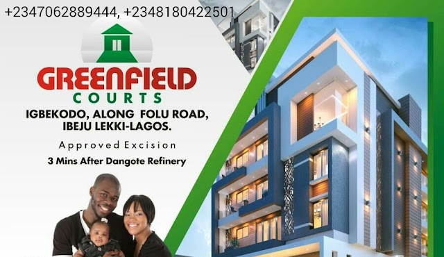 GREENFIELD COURT, IBEJU LEKKI, LAGOS (LAND FOR SALE)