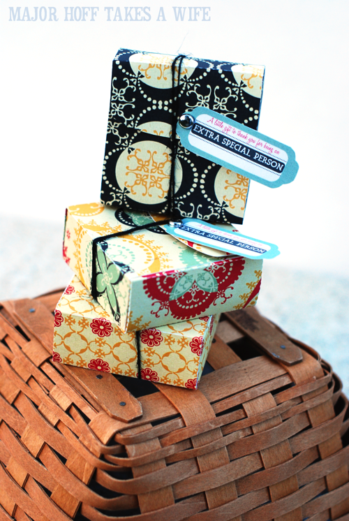 A little something extra for those extra special people in your life. Easy DIY gift boxes with your cricut machine.