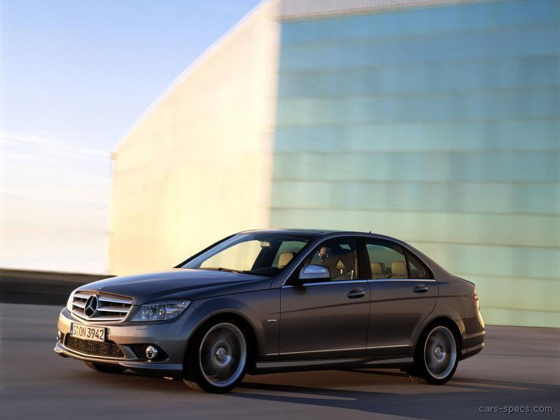 2008 mercedes benz c class sedan specifications pictures prices. Black Bedroom Furniture Sets. Home Design Ideas