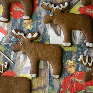 Pepparkakor (Swedish ginger biscuits).