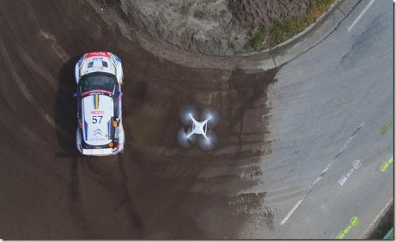 droni dji al wrc 2016 sardegna