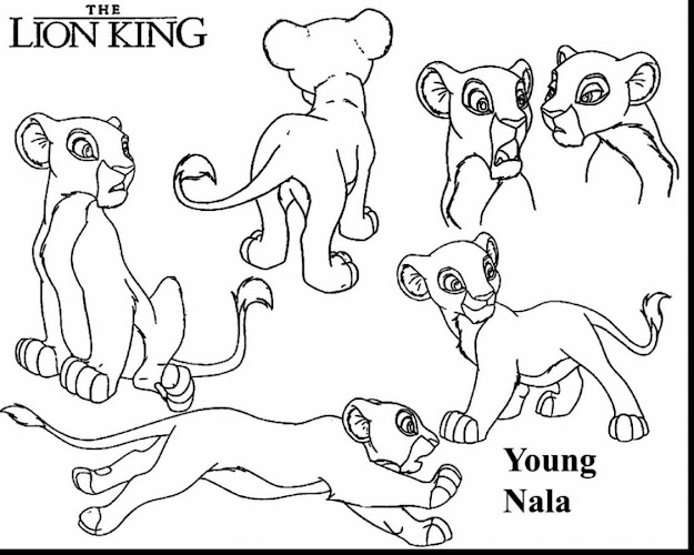 Surprising Simba And Nala Coloring Pages With Lion King Coloring Pages And Lion  King Coloring Pages