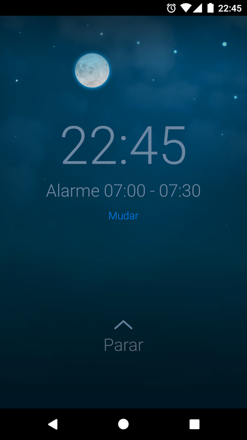 Sleep Cycle alarm clock: captura de tela