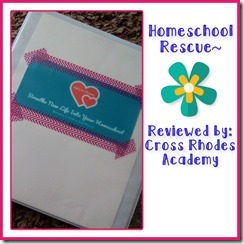 Homeschool Rescue Notebook