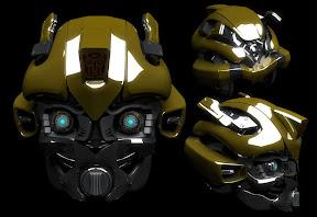 Bumblebee (Transformers) 3D modellezés.