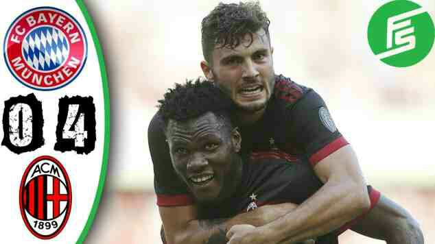 Bayern Munich 0 AC Milan 4: Ancelotti's side battered as Bonucci makes debut