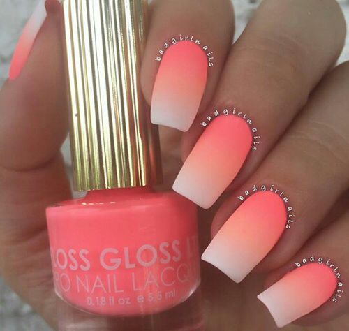 SPLENDID NEON COLORS OMBRE NAILS DESIGN FOR LADIES 5