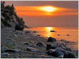 """""""Rocky Beach Sunset"""" by Tim Snyder --3d Place A General"""