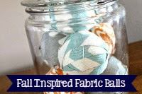 Fall Inspired Fabric Balls
