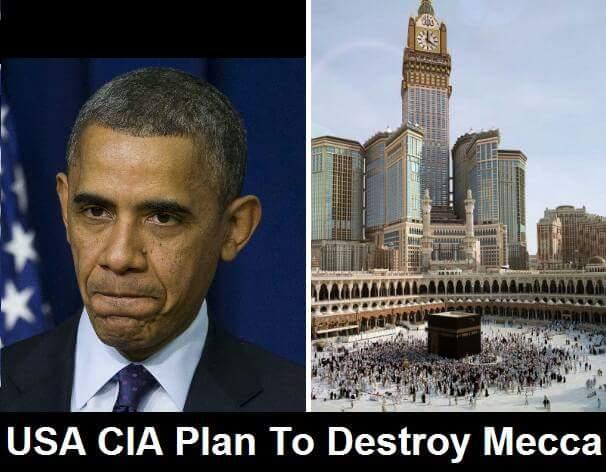 USA CIA merancang untuk musnahkan Mekah dan Madinah