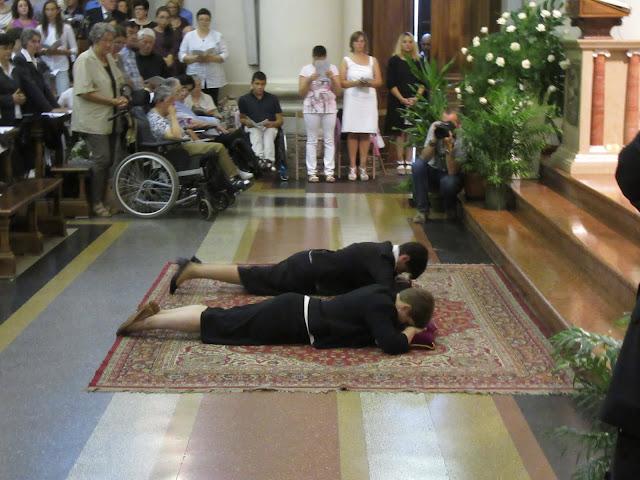 Professione religiosa di Claudia e Marilisa