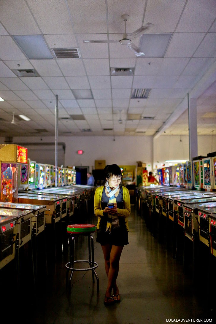 Pinball Hall of Fame Vegas - Unique Date Ideas.