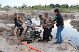 Maraknya Penambang Emas Ilegal di Kalbar, Polda Kalbar Amankan Satu Orang Terduga Beserta Barang Buktinya