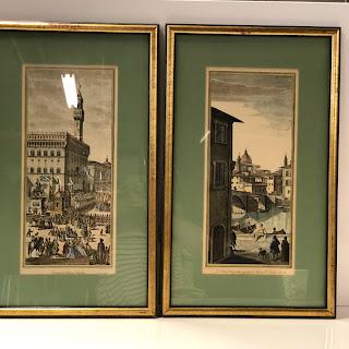Pietro Pazzi Italian Engraving Pair