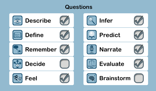 Conversation TherAppy Question Types