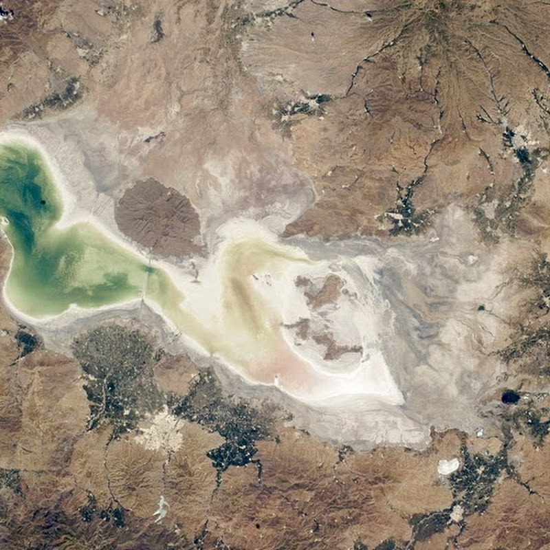 The Disappearing Lake Urmia of Iran