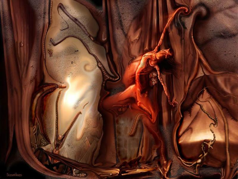 Sorrow Of Angry Bestia, Horror And Dark Art