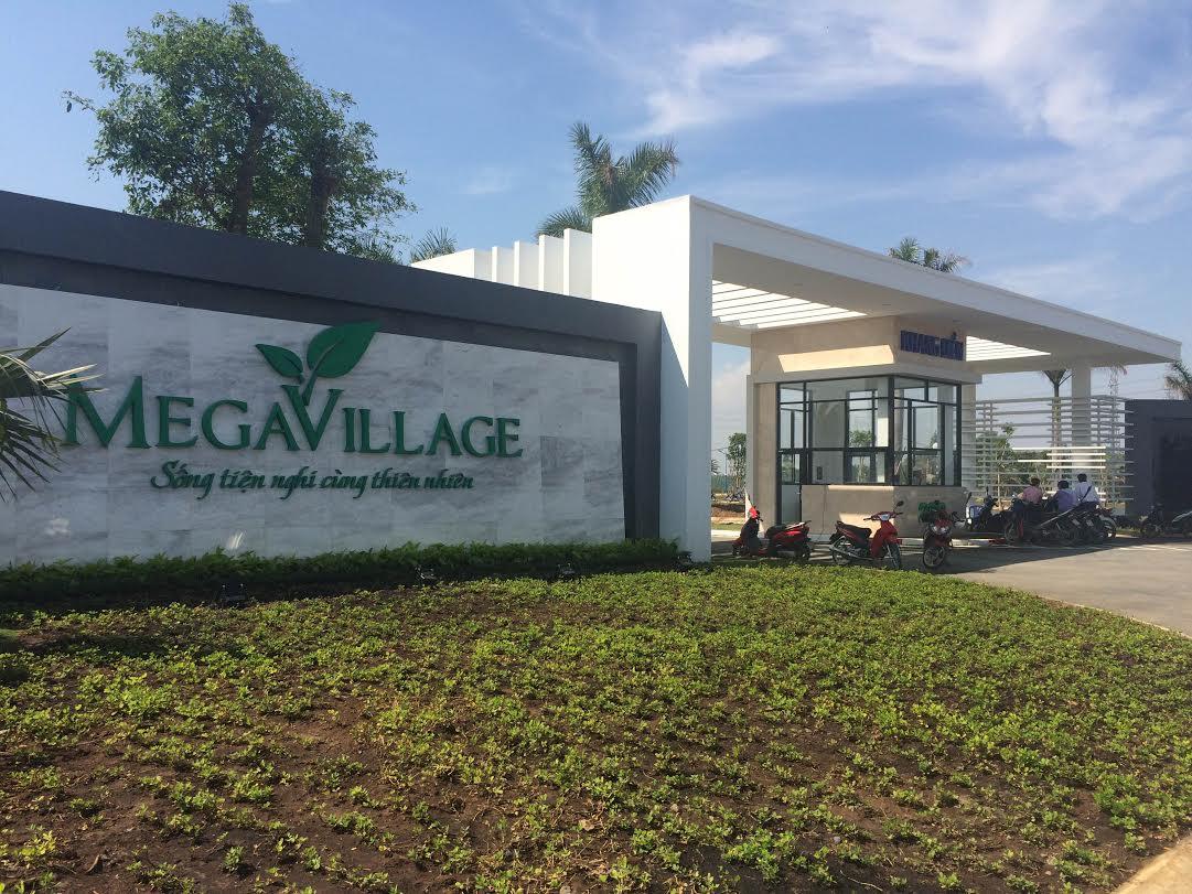tiến độ xây dựng Dự Án Mega Village